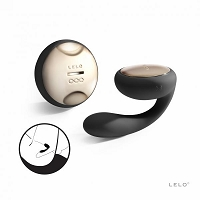 Ida Rotating Couples Massager - Black
