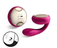 Ida Rechargeable Couples Massager - Pink